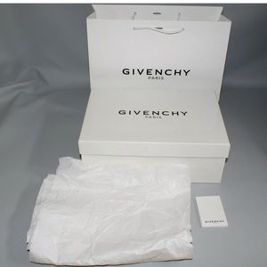 GIVENCHY Empty Box Gift Set Paper Bag Tissue Paper